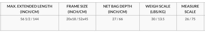 R703 Spec. McLean Nets