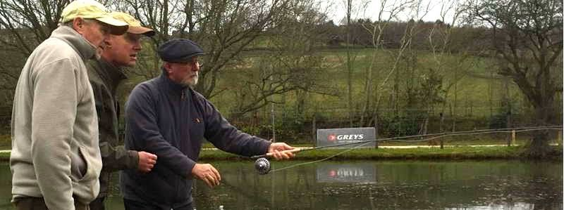 This Saturday - Andrew Sowerby from Hardy, Greys - demoing their rods & lines