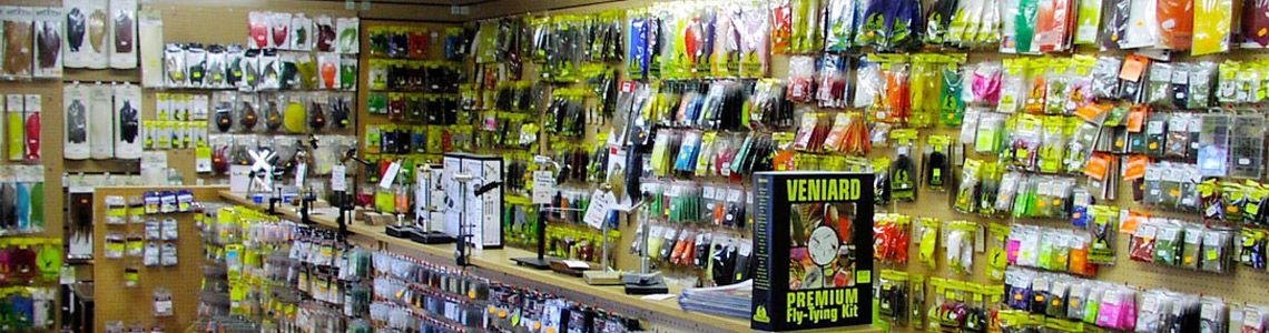 TACKLE & FLY TYING AT MAIL ORDER PRICES