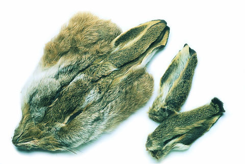 Hares Mask - Veniard Natural or Dyed