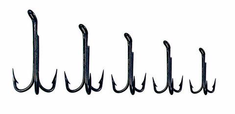 Esmond Drury Black Treble Hooks