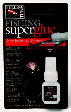 Fulling Mill Fishing Superglue - Brush On