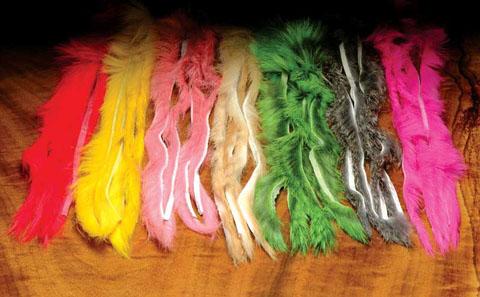 Rabbit Zonker Strips - Hareline. Reduced