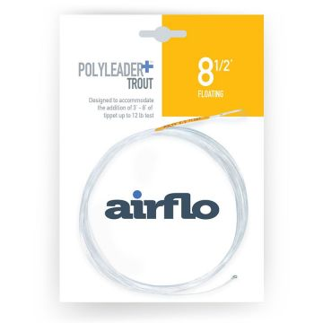 Airflo Polyleader Plus - Trout Floating: 6.5' & 8.5'