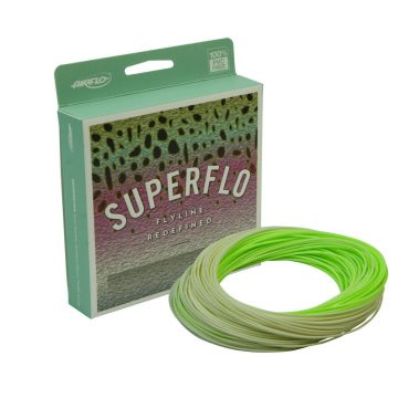 Airflo SuperFlo Stillwater Taper - Lichen Green