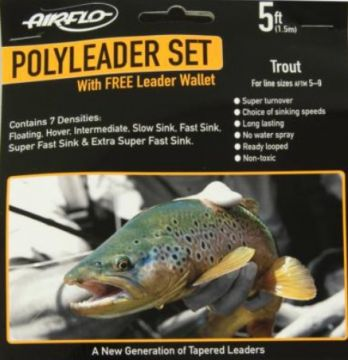 Airflo Trout 5ft Polyleader Set