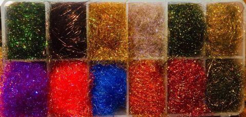 Dubbing Dispenser & Spirit River UV2 Diamond Brite Dubbing