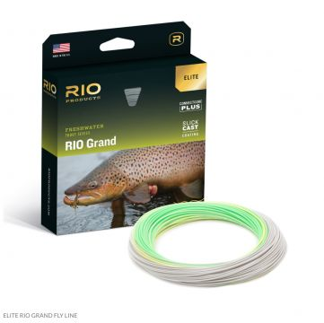New Elite RIO Grand Flyline with Slickcast. Free Micron Backing.