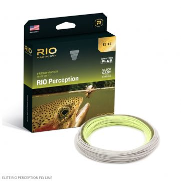 New Elite RIO Perception Flyline with Slickcast. Free Micron Backing.