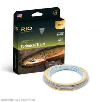 New Elite RIO Technical Trout Flyline with Slickcast. Free Micron Backing.