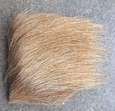 Elk Body Hair Bleached