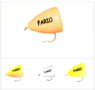 Fario Bung #8 - Mixed Pack 4 Bungs