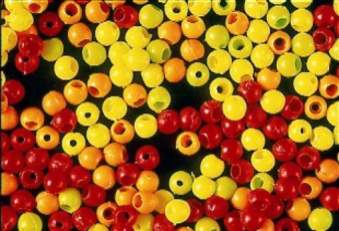 Firefly Fluo Hot Head 4mm Plastic Beads