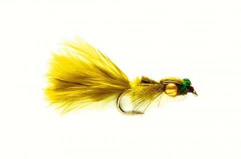 Golden Nugget Marabou Damsel #12