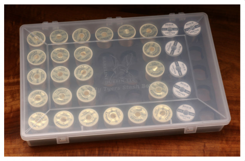 Hareline Fly Tyers Stash Box for 40 Spools - In stock now.