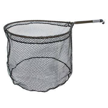 Mclean Long Handle Weigh Net 14lb. Rubberised Mesh. R100-BR
