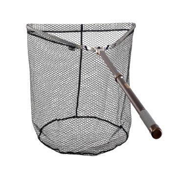 Mclean R120 Hinged Tri-Weigh Net Rubber Landing Net