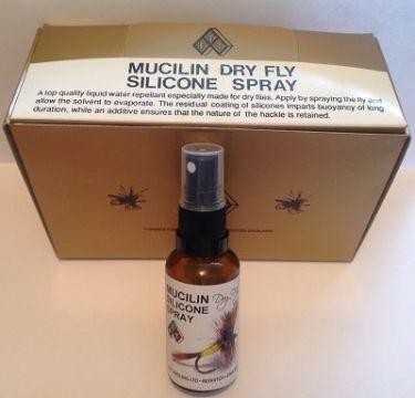 Mucilin Dry Fly Silicone Spray