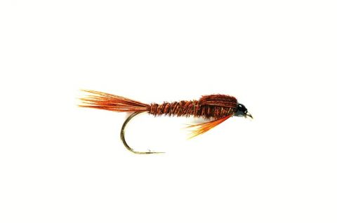 Pheasant Tail Nymph (PTN) #12