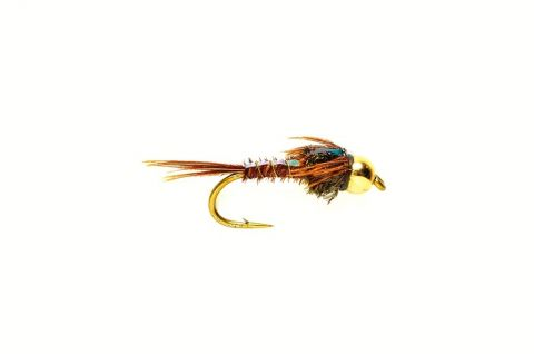 Pheasant Tail Nymph (ptn) - Golden Nugget Flashback #14