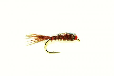 Pheasant Tail Nymph - Sawyer Flashback #16