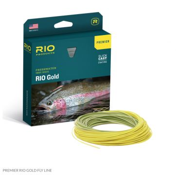 New Premier RIO Gold Flyline with free Micron Backing. See SLICKCAST video
