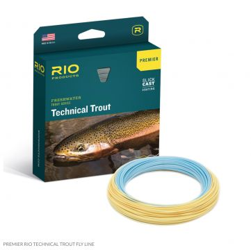 New Premier RIO Technical Trout Flyline with Slickcast. Free Micron Backing.