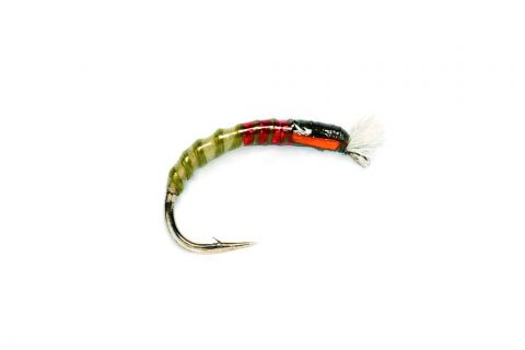 Red Neck Buzzer - Olive or Black #10