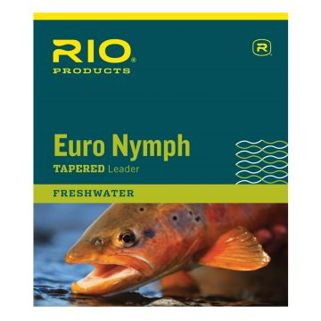 Rio Euro Nymph Leader - see video for RIO FIPS Euro Nymph Fly Line