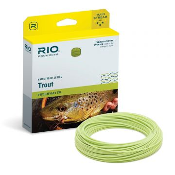 RIO Mainstream Trout Fly Lines. Weight Forward or Double Taper.