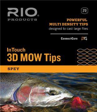 RIO Skagit Medium 3D MOW Tips - See Video