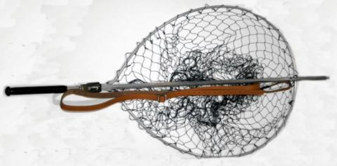 "Sharpes Teardrop Gye Salmon Net  28"" x 21"""