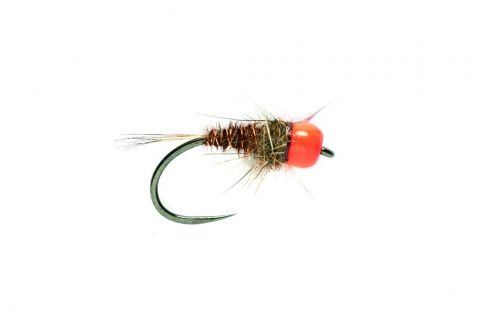 SR Orange Tungsten Head Mary #14 - Barbless