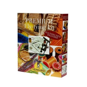 Veniard Premium Fly Tying Kit - Complete with Vice & Tools
