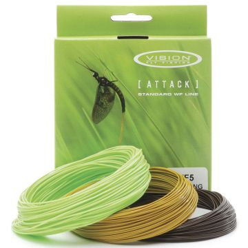 Vision Attack Floating , Intermediate & Sink Fly Lines