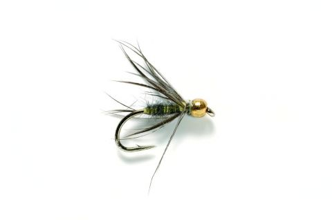 Wet Fly - Waterhen Bloa Tungsten Bead #14