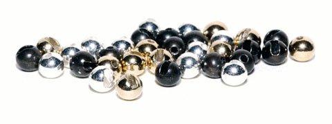 Veniard Tungsten Beads - Black Nickel, Silver or Gold