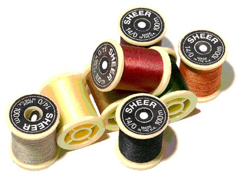 Gordon Griffiths Tying Thread -  Cobweb 6/0