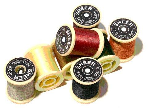 Gordon Griffiths Tying Thread -  Sheer 14/0