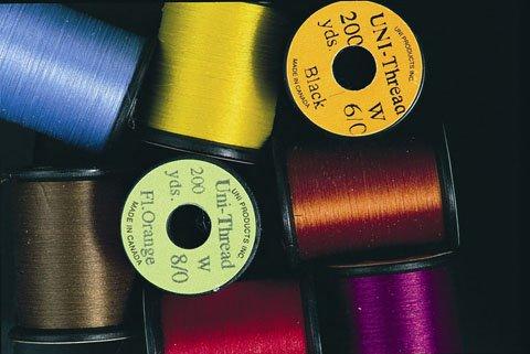 UNI-Thread 200yd spool. 6/0 135 Denier.