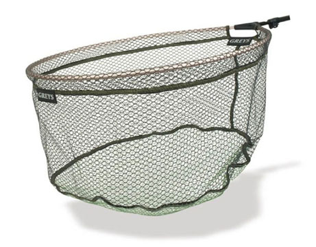 "Greys Rubber Free Flow Spoon Net Head 18"", 20"" or 22"""