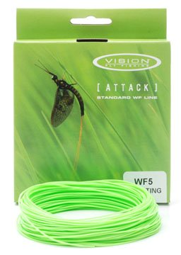 Vision Attack Floating Fly Line