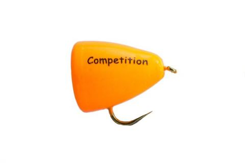Competition Barbless Fario Bung Orange