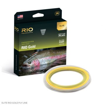 Elite RIO Gold Flyline with Slickcast