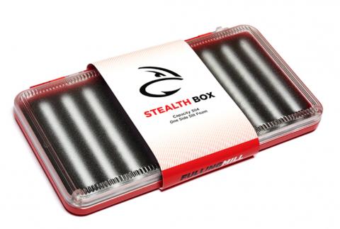 Fulling Mill Stealth Box - 304 Flies. Size: 20 x 106 x 186 (mm)