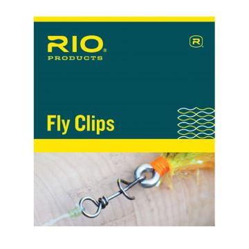 RIO Fly Clips & Quick Links/ Twist Clips for fly sizes  #1/0 to #16 - See Video