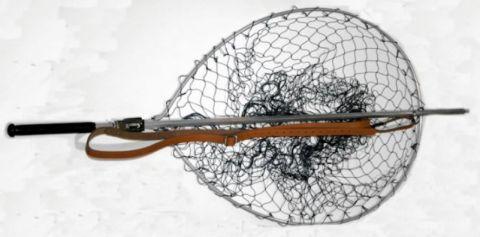 """Sharpes Teardrop Gye Salmon Net  28"""" x 21"""". Back in Stock!"""