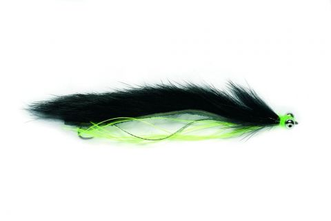 "Snake Fly 2.75"" Black - Barbless"
