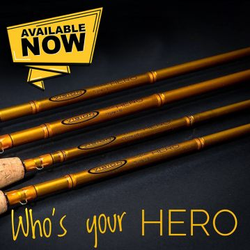 Vision Hero Fly Rod. 7ft to 10ft fly rods.