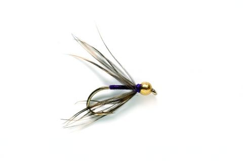 Wet Fly - Snipe & Purple Tungsten Bead #14